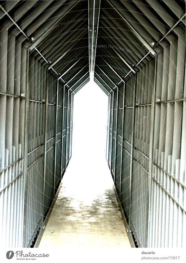 Ein Licht am Ende des Tunnels Fototechnik dacarlo Gang