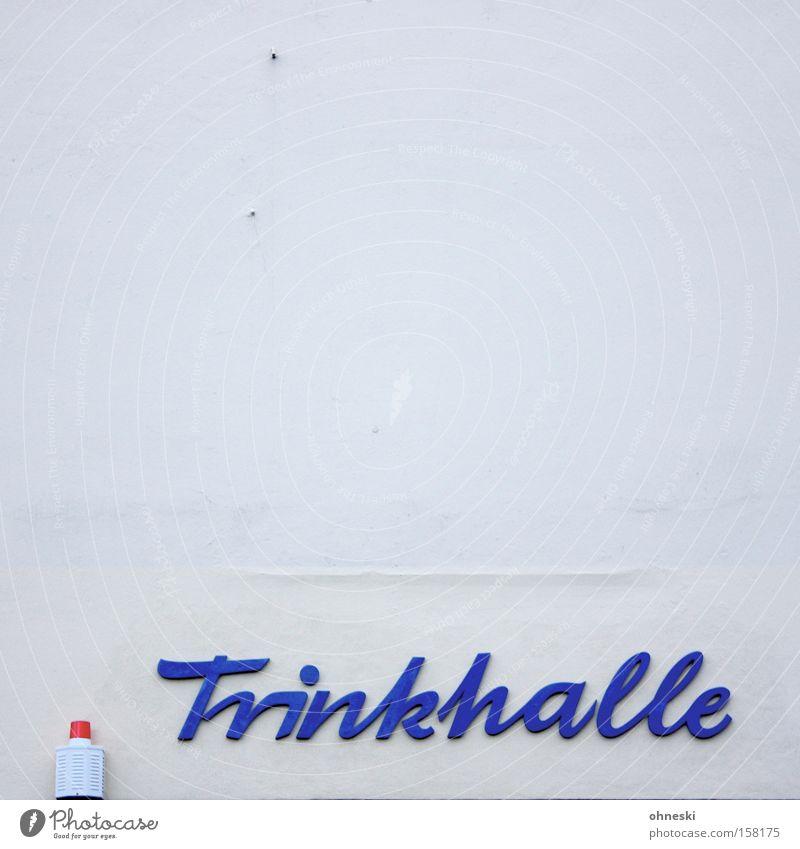 100 - Ich geh´dann mal in die... Wand Alkohol Schriftzeichen Gastronomie Dienstleistungsgewerbe Typographie Ruhrgebiet Kiosk Getränk Lebensmittel Ladengeschäft