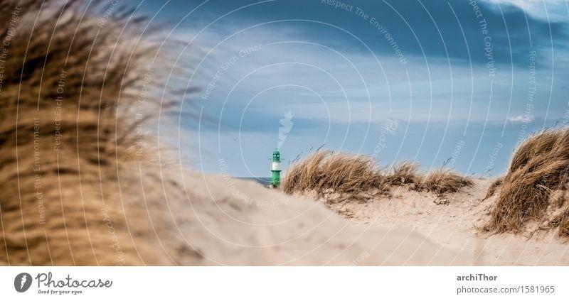 Seebrise Strand Meer Insel Wellen Natur Landschaft Urelemente Sand Luft Himmel Wolken Gewitterwolken Wind Sturm Gras Sträucher Küste Nordsee Ostsee dunkel blau