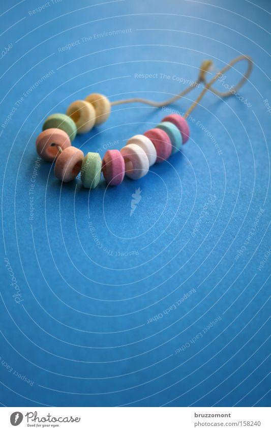 zuckerkick Bonbon Süßwaren Schmuck Armband blau Kindergeburtstag retro Zucker mehrfarbig lecker Ernährung schnökern