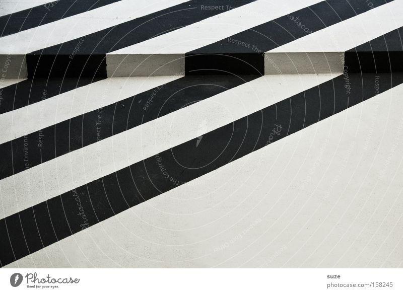 Stolperfalle weiß Haus schwarz Wand Mauer Stil Linie Kunst Hintergrundbild Fassade Design Ecke einfach Streifen Grafik u. Illustration Klarheit