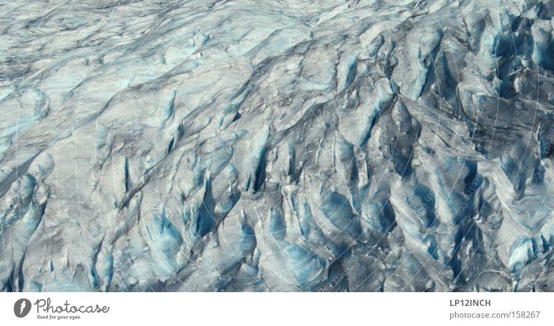 Einblick in die verzwickte Struktur des Gletschers Wasser Sommer Ferien & Urlaub & Reisen schwarz Einsamkeit Berge u. Gebirge Bewegung Eis Angst wandern Umwelt