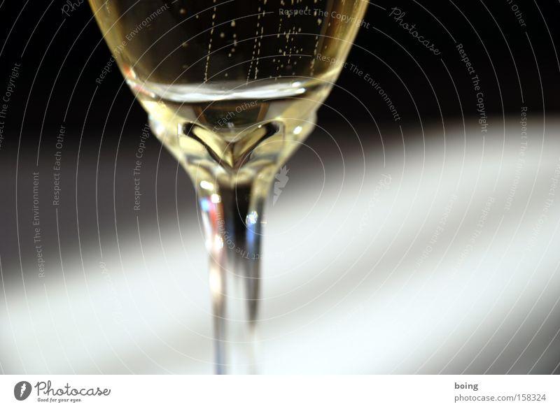 zweites Frühstück Stil Feste & Feiern Wein Stengel Silvester u. Neujahr Alkohol Kristallstrukturen Glas Sekt Champagner Prosecco Sektglas Kelch Kohlensäure Schliff