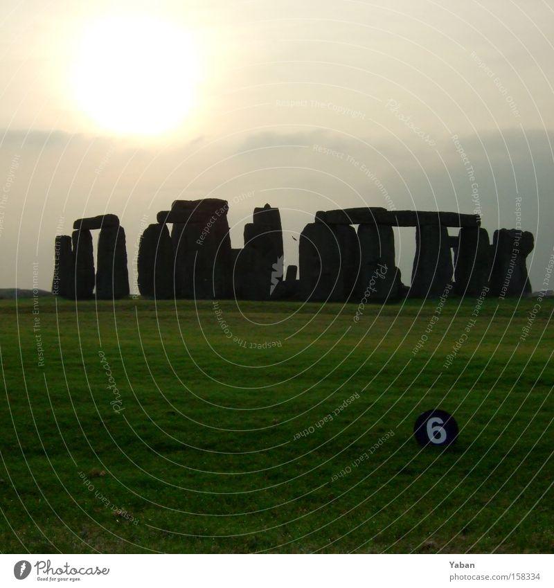 Flotte Nummer in Stonehenge Stein Stern Ziffern & Zahlen Wahrzeichen England 6 Zauberei u. Magie Rätsel Teufel Himmelskörper & Weltall Gotteshäuser Mysterium