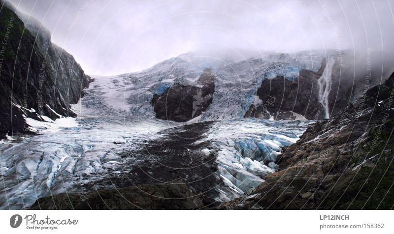 """Gletscher Stylez ...""""Klappe, die Zweite!"""" Natur blau Sommer Ferien & Urlaub & Reisen Schnee Berge u. Gebirge Umwelt Stein Angst Eis Kraft wandern Felsen"""