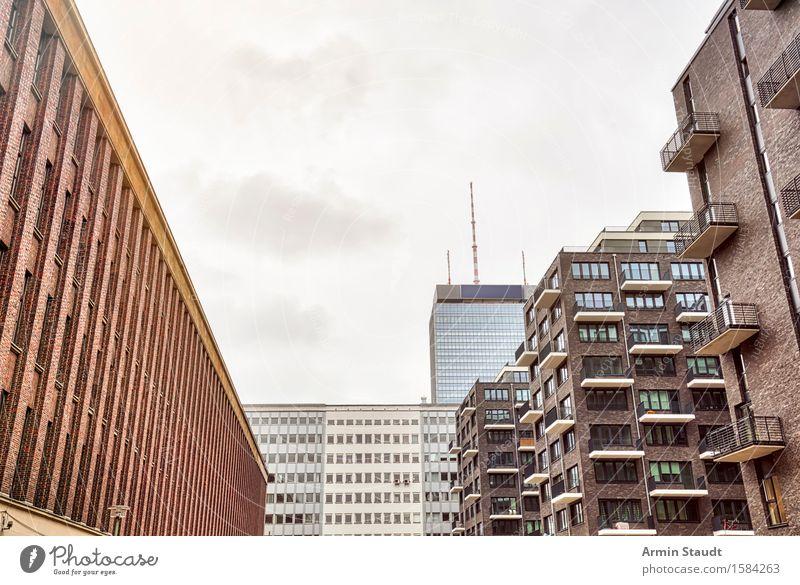 Neue Eigentumswohnungen in Berlin Mitte Stadt Haus Gebäude Business Stimmung Fassade Design Häusliches Leben Hochhaus Perspektive kaufen planen Balkon