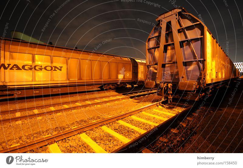 ego shooter Eisenbahn Verkehr Güterverkehr & Logistik Eisenbahnwaggon Güterwaggon Container Spedition Gleise Schienenverkehr Bahnhof Industrie