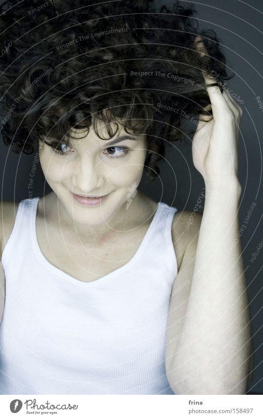 something nice schön Haare & Frisuren Porträt Bekleidung Beautyfotografie Locken Schminke Kosmetik Indie Momo