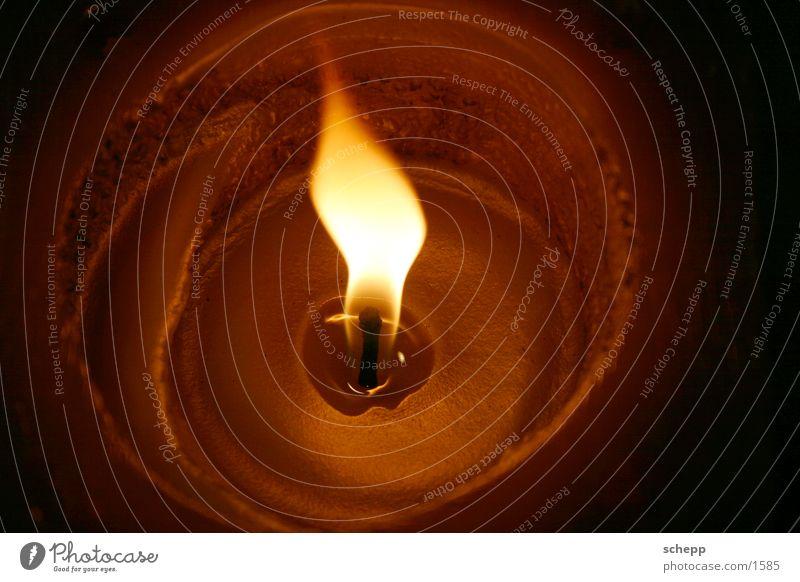 Flamme 1 Weihnachten & Advent Brand Kerze Wachs