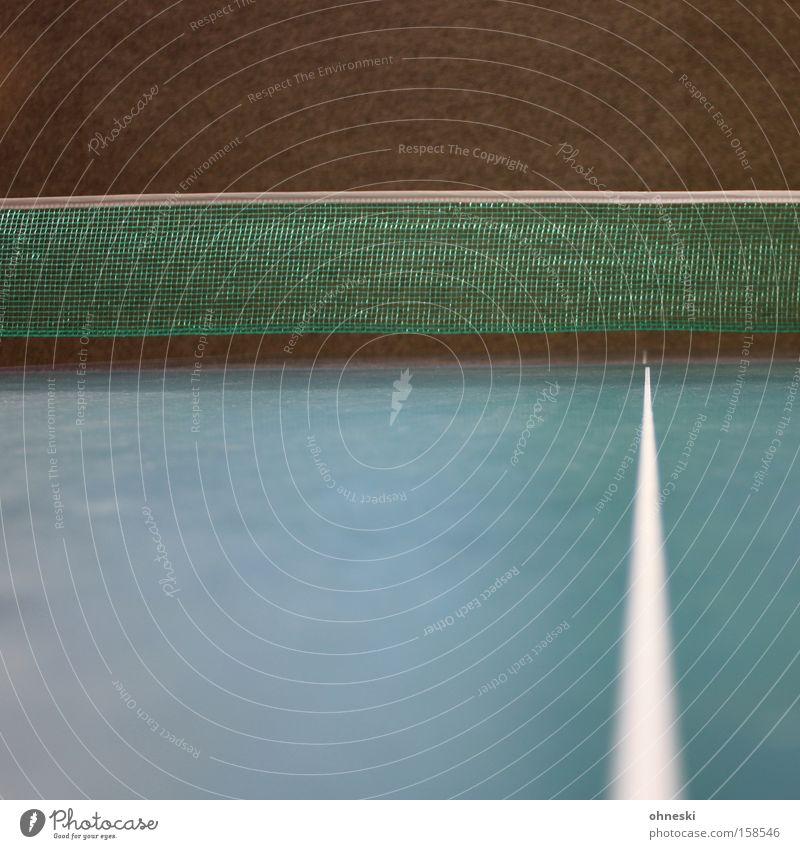 Netz! grün Freude Sport Spielen Linie Ecke Freizeit & Hobby Ass Aufschlag Spielkarte Ballsport Tischtennis Tischtennisplatte