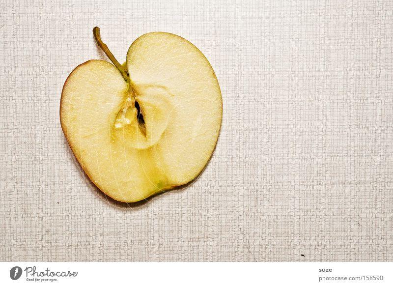 Apple User Lebensmittel Frucht Apfel Ernährung Bioprodukte Vegetarische Ernährung Diät Fasten Tisch frisch saftig schön süß Scheibe Vitamin Vogelperspektive