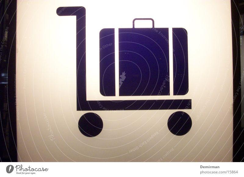 gepäck halt Gepäck Koffer Beleuchtung Ferien & Urlaub & Reisen Sommer Licht Freizeit & Hobby schwer Dinge Zeichen Schilder & Markierungen Flughafen warten