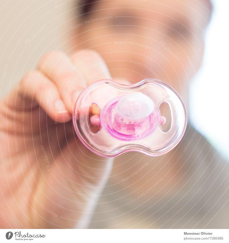 Schnuller/Dummy Square Erwachsene rosa Baby Mutter Kindererziehung Schnuller