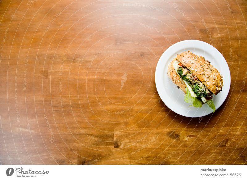 vegetarisches kraftpaket Gesundheit Ernährung Vegetarische Ernährung Baguette Käse Vesper Vollkorn Teller Frühstück Gastronomie Salat krafpaket Bioprodukte
