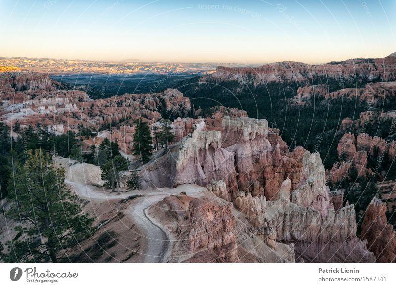 Bryce Canyon harmonisch Wohlgefühl Zufriedenheit Sinnesorgane Erholung Ferien & Urlaub & Reisen Abenteuer Berge u. Gebirge Umwelt Natur Landschaft Urelemente