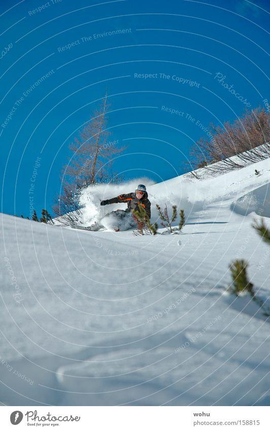 Steve Podborski Freude Schnee Berge u. Gebirge Skifahren Skier Österreich Wintersport Nervenkitzel Sport Tiefschnee Pulverschnee Free-Ski
