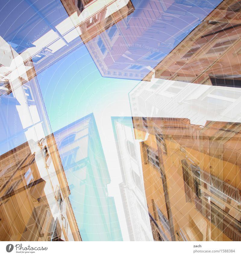 immobile Immobilie Himmel Rom Italien Stadt Hauptstadt Stadtzentrum Altstadt Haus Traumhaus Palast Bauwerk Architektur Mauer Wand Fassade Fenster alt historisch