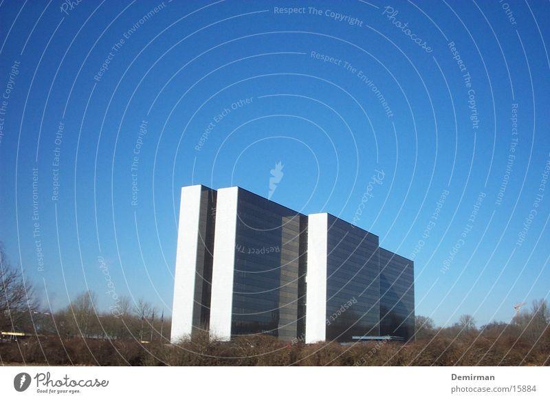 Hohes Haus Hochhaus hoch Gebäude Architektur Himmel