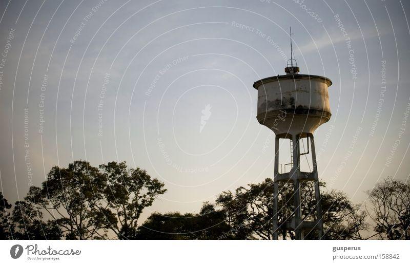 w hoch 2 tower schön Himmel ruhig frei Wasserturm