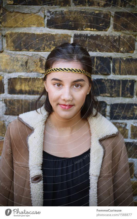 UrbanChic_02 Lifestyle Stil schön feminin Junge Frau Jugendliche Erwachsene 1 Mensch 18-30 Jahre Identität einzigartig Stadt Jugendkultur Hipster trendy Asien