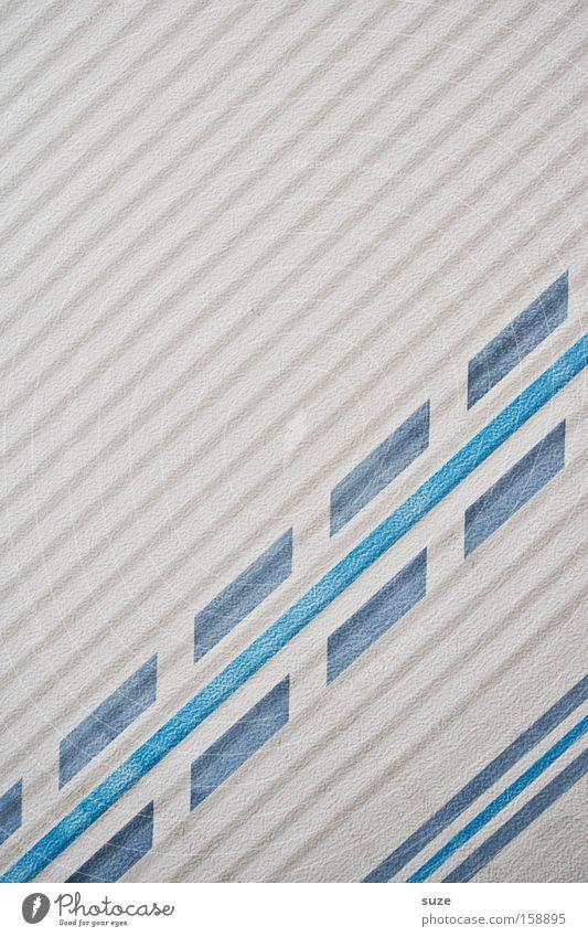 Mittellinie Dekoration & Verzierung Verkehr Straße Verkehrszeichen Verkehrsschild Kunststoff Schilder & Markierungen Linie Streifen einfach weiß hell-blau