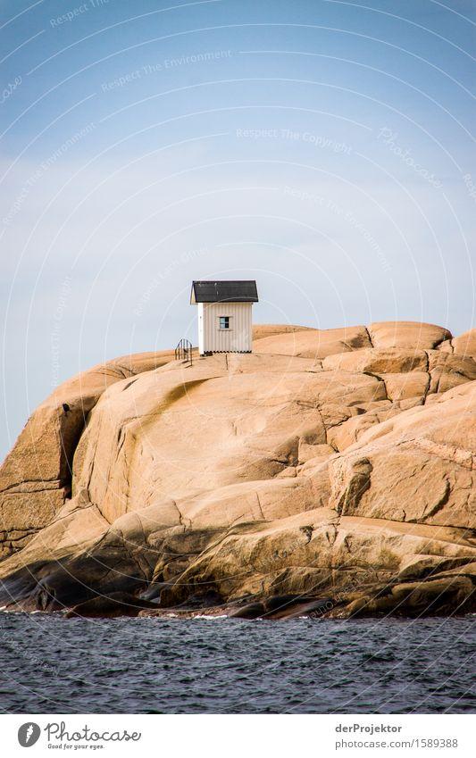 Die kleine Hütte für zwischendurch Natur Ferien & Urlaub & Reisen Pflanze Sommer Landschaft Tier Ferne Umwelt Küste Freiheit Felsen Tourismus Wellen Kraft