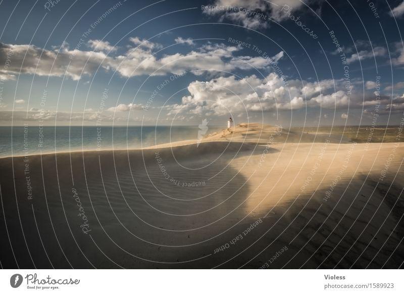 Wüstenplanet IV Ferien & Urlaub & Reisen Sonne Strand Küste Bucht Nordsee entdecken Erholung Stranddüne Düne Rubjerg Wanderdüne Rubjerg Knude Leuchtturm