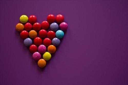 Remix |*3.400* Hz Farbe Liebe Glück Menschengruppe Lebensmittel Zusammensein Ernährung Kreativität Herz einzigartig süß Romantik Hoffnung violett Glaube