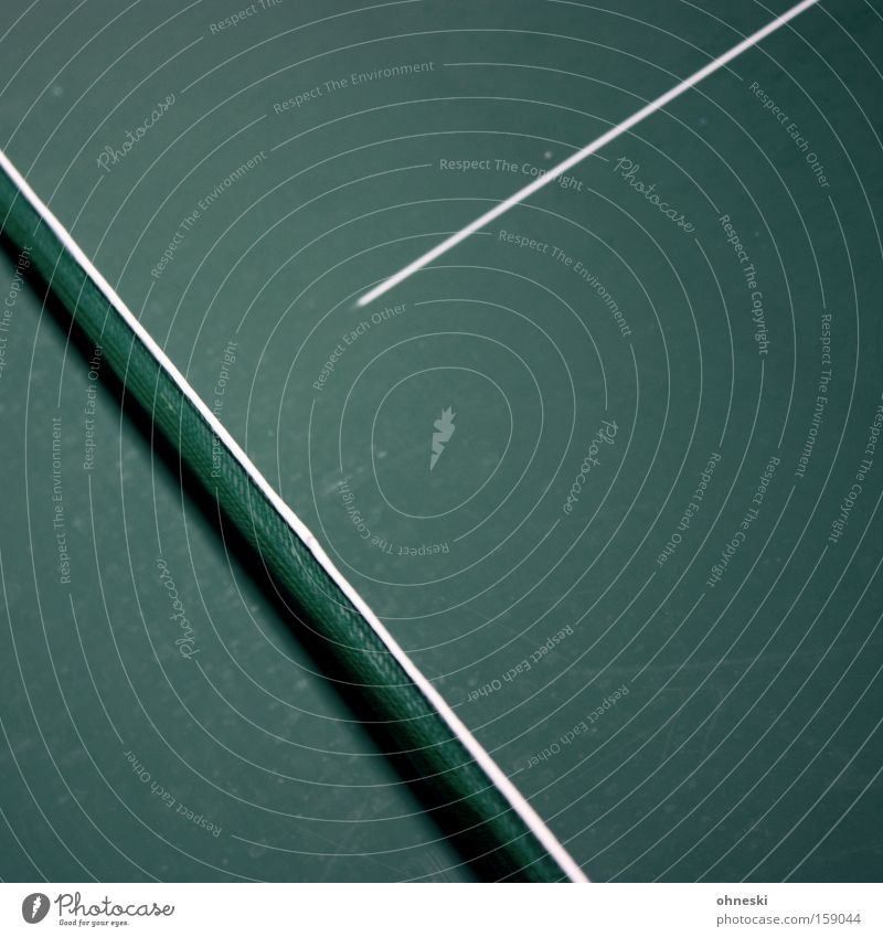 Y oder so grün Tischtennis Tischtennisplatte Netz oben Linie graphisch minimalistisch Sport Halle Spielen Buchstaben Ballsport Freizeit & Hobby