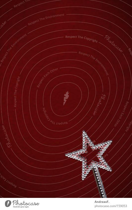 Abrakadabra Stern (Symbol) Fee Wunsch Sternschnuppe Weihnachten & Advent Prinzessin Karneval Diamant Zauberstab Kostbarkeit Zepter Schmuck brilliant Reichtum