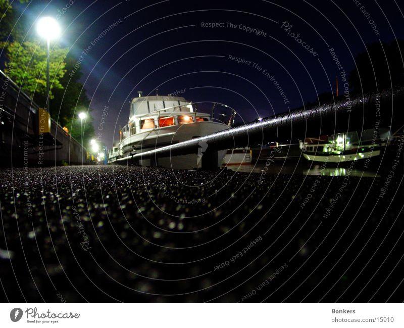 Hausboot Holland Sportboot Nacht Niederlande Wasserfahrzeug Europa Jacht
