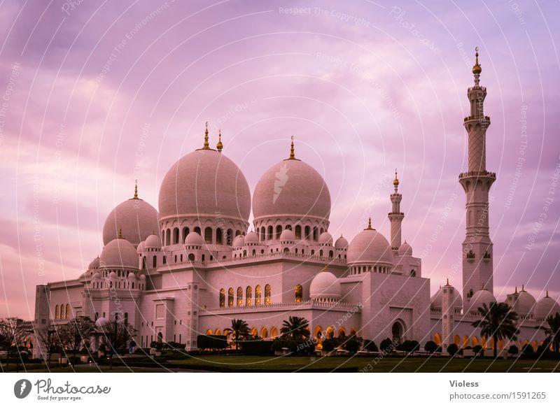 1001 Nacht X Hauptstadt Bauwerk Gebäude Architektur Sehenswürdigkeit Wahrzeichen Denkmal ästhetisch außergewöhnlich historisch Sauberkeit Macht Schutz Abu Dhabi
