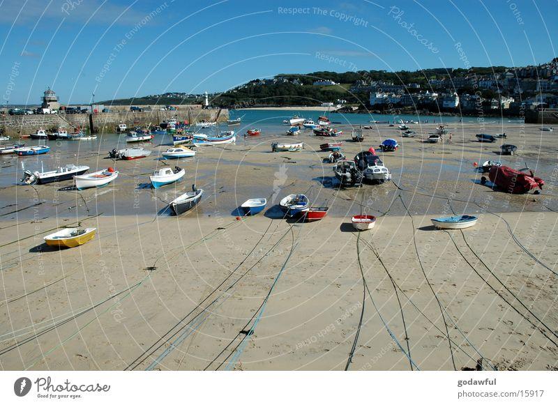 Sankt Ives Wasserfahrzeug Europa Hafen Angeln Fischereiwirtschaft