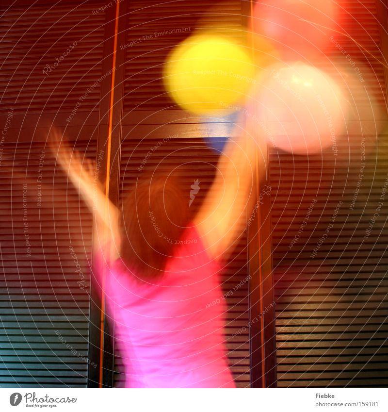 Happiness :) Jugendliche Freude Farbe Leben Party Beleuchtung Feste & Feiern Geburtstag Fröhlichkeit Luftballon Karneval Geister u. Gespenster Fleck Jubiläum Erscheinung Verwirbelung