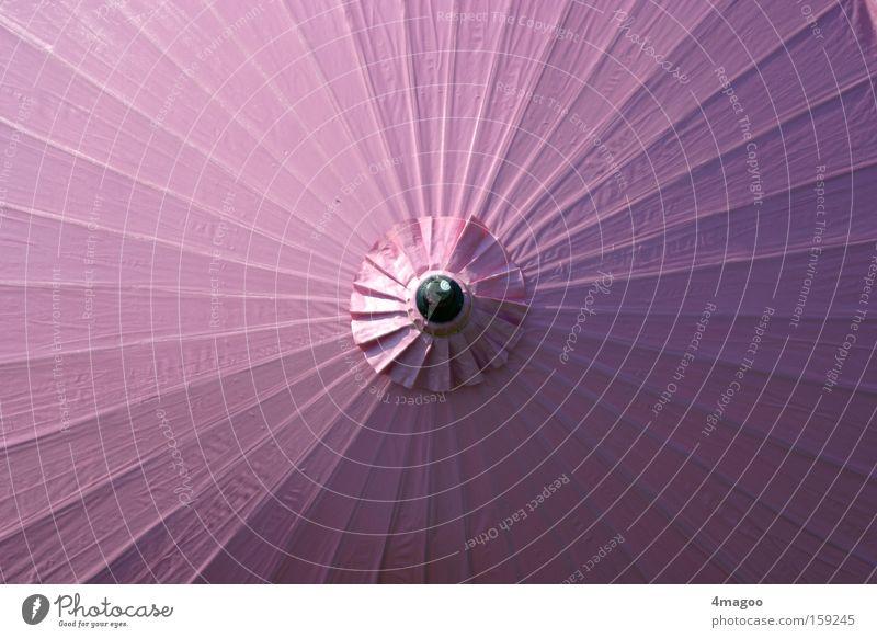 pink paper parasol Sommer Ferien & Urlaub & Reisen rosa Papier rund violett Asien Dekoration & Verzierung Regenschirm Sonnenschirm Japan Schirm Accessoire