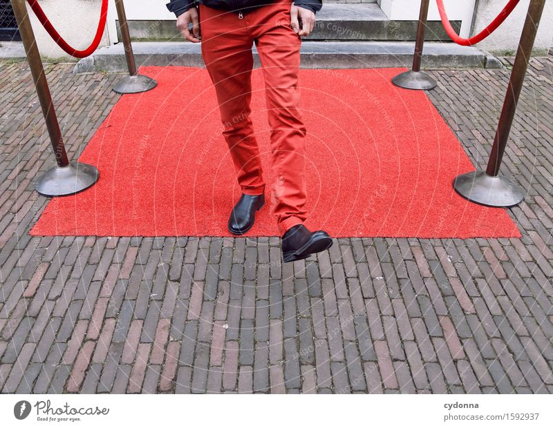 Obacht: Komfortzonen-Randgebiet Mensch Jugendliche Junger Mann Leben Lifestyle Platz Beratung Karriere Reichtum Zone