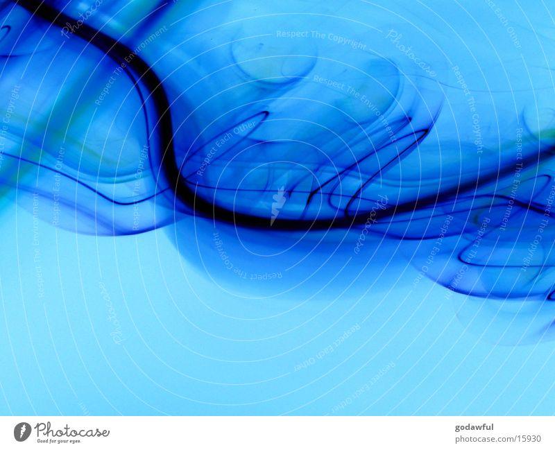 waves Wellen blau Schwung Langzeitbelichtung Stil