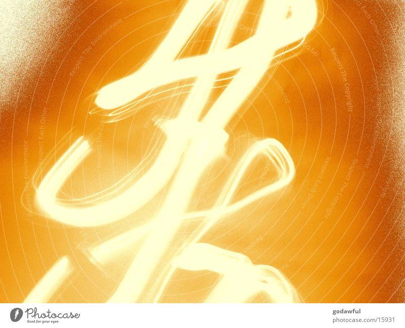 chinesisch Chinesisch Schriftzeichen Langzeitbelichtung Stil Licht lens