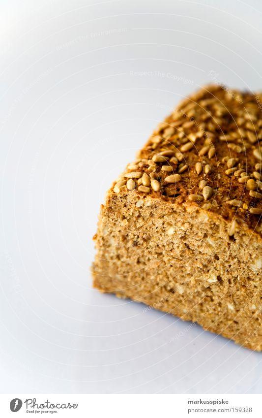 vollkorn brot Gesundheit frisch Ernährung Gastronomie Korn Frühstück Brot Bioprodukte Backwaren Vegetarische Ernährung Vesper Oberfläche Kruste Bäckerei
