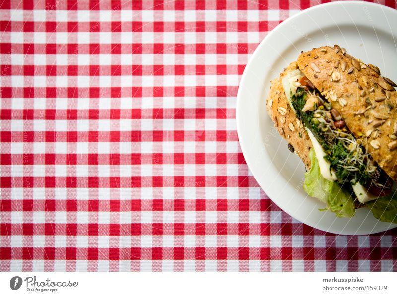 vegetarisches kraftpaket Ernährung Gemüse Gesundheit Pause Gastronomie Frühstück Korn Bioprodukte Brötchen Tomate Mahlzeit Leiter Salat Käse Brot Vesper