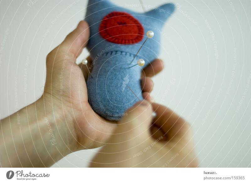 Mobbing Angst Wut Stress Puppe Panik Aggression Zauberei u. Magie Ärger Hass Monster Erschöpfung Nadel Spielzeug Moral Ritual Opfer