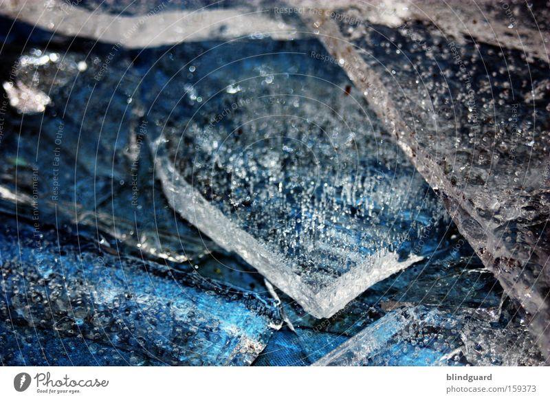 Titanic 2009 Winter Wasser Frost kalt Eis frieren gefroren Bewegung bewegungslos glänzend Klarheit deutlich Eisscholle spritzen Klimawandel frostschutz