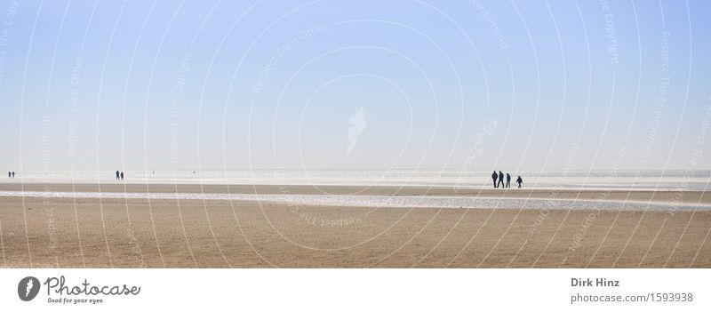 St. Peter Ording / Beach Natur Ferien & Urlaub & Reisen Sommer Wasser Sonne Meer Landschaft Ferne Strand Umwelt Küste Freiheit See Sand Horizont Tourismus