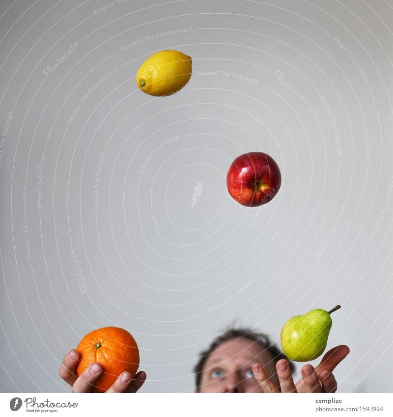 Obstsalat Gesunde Ernährung Hand Freude Leben Essen Sport Gesundheit Lebensmittel Frucht Orange Arme genießen Fitness Getränk Wohlgefühl Erkältung