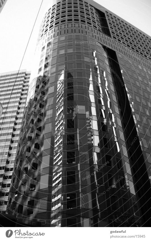 Business-District Stadt Fenster Architektur Hochhaus modern Stadtzentrum San Francisco