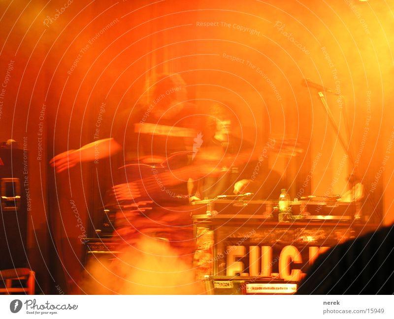 Rock'n Roll Musik Nebel Konzert Rauch Rockmusik Gitarre Diskjockey Krach