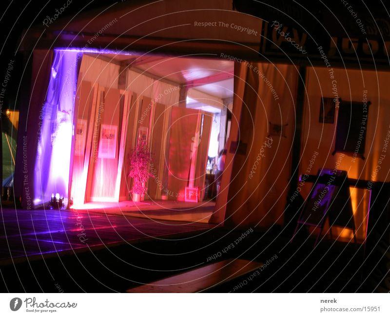 Basislager Party Stil Tanzen frei Freizeit & Hobby Eingang Zelt Lager