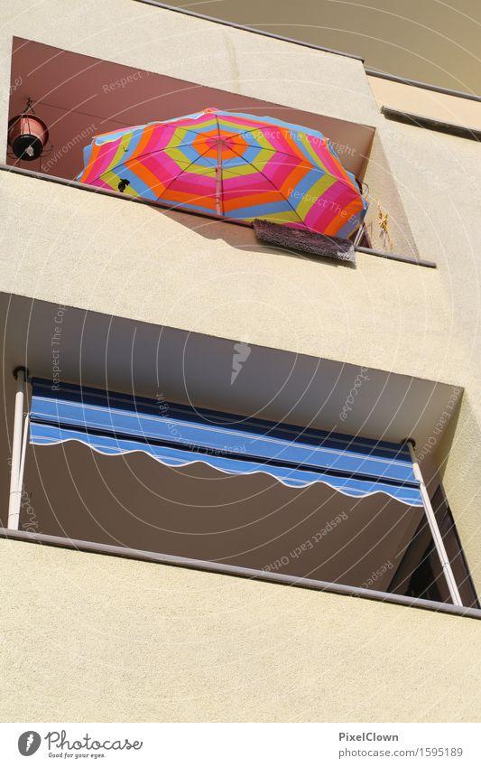 Sonnenschein in Köln Kalk Lifestyle Ferien & Urlaub & Reisen Häusliches Leben Wohnung Haus Garten Sommer Stadt Balkon mehrfarbig träumen Farbfoto