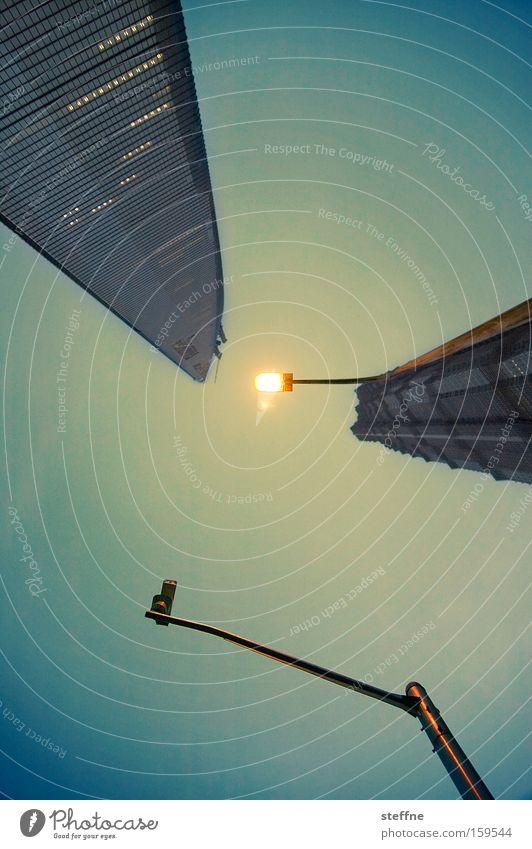 Perspektivübung Arbeit & Erwerbstätigkeit Hochhaus Erfolg Asien Laterne China Wirtschaft Ampel Kapitalwirtschaft streben Bürogebäude Kredit Shanghai Geldgeber