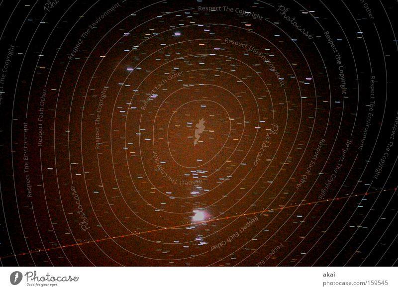 Raumpatrouille Orion Stern Flugzeug UFO Raumfahrzeuge Asteroid Astronom Sternbild Weltall Astrofotografie Spiegelteleskop Himmel Himmelszelt Langzeitbelichtung
